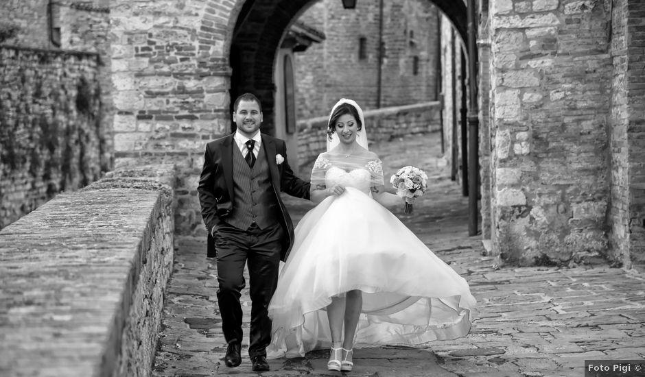 Il matrimonio di Daniele e Valantina a Gubbio, Perugia