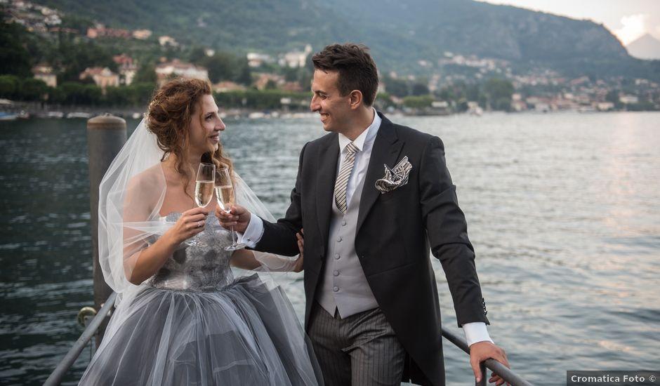 Il matrimonio di Marco e Gaia a Plesio, Como