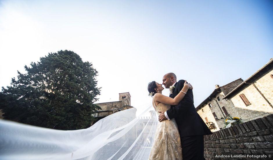 Il matrimonio di Davide e Rossella a Castell'Arquato, Piacenza