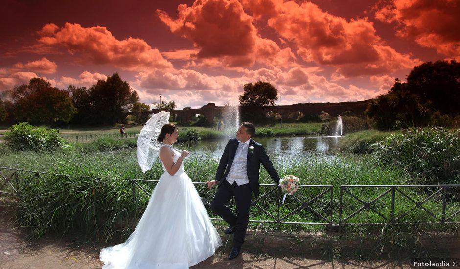 Il matrimonio di Giuseppe e Rebecca a Castel Gandolfo, Roma