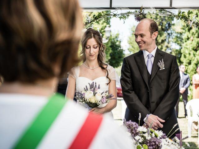 Il matrimonio di Matteo e Chiara a Fortunago, Pavia 7