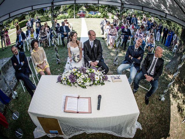 Il matrimonio di Matteo e Chiara a Fortunago, Pavia 13