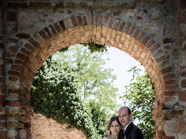 Il matrimonio di Matteo e Chiara a Fortunago, Pavia 25