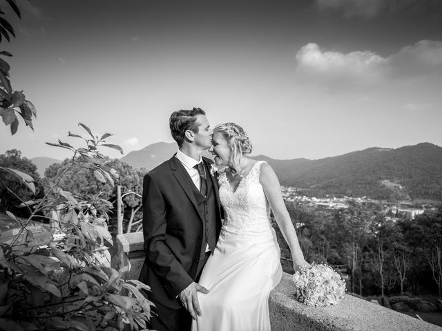 Le nozze di Chloe e Stuart