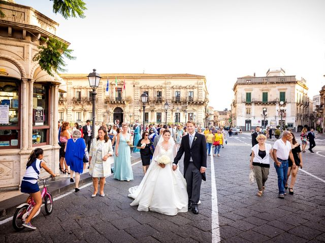 Il matrimonio di James e Kelly a Acireale, Catania 45