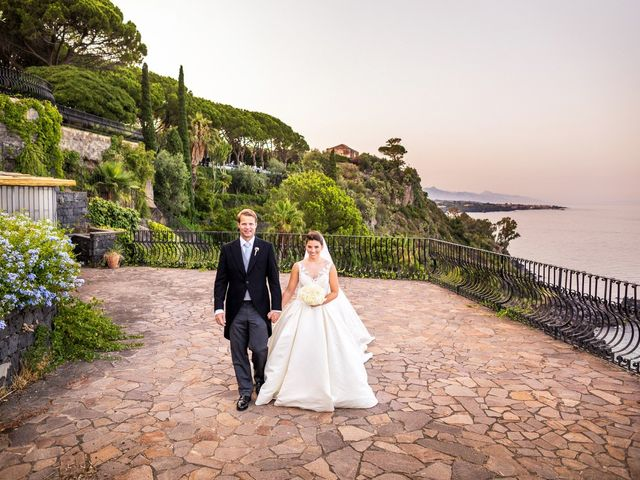 Il matrimonio di James e Kelly a Acireale, Catania 53