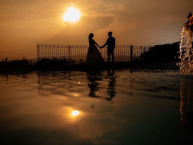 Le nozze di Ilenia e Manauel