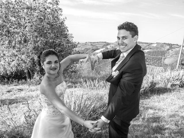 Il matrimonio di Mattia e Viviane a Cesena, Forlì-Cesena 65