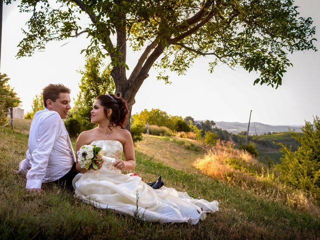 Il matrimonio di Mattia e Viviane a Cesena, Forlì-Cesena 73