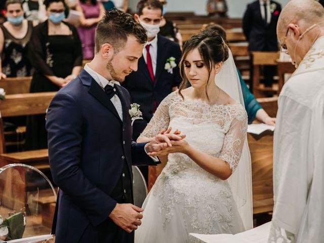 Il matrimonio di Ylenia e Gianluca a Caravaggio, Bergamo 31