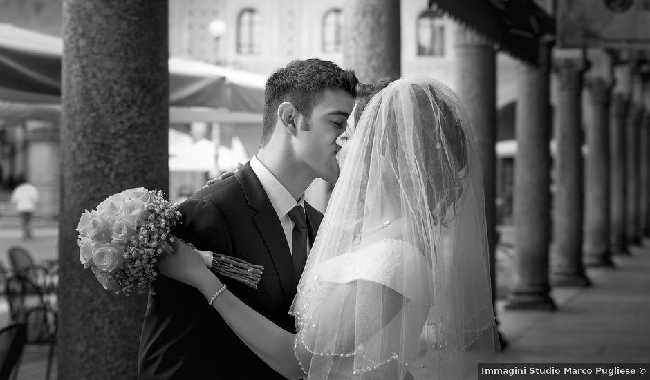 Il matrimonio di Tommaso e Matilda a Vigevano, Pavia