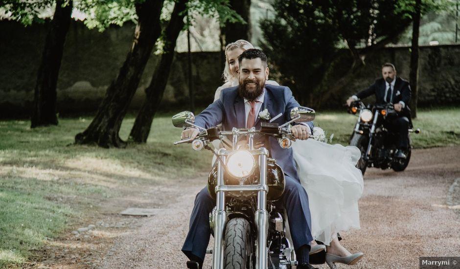 Il matrimonio di Oscar e Velia a Lesmo, Monza e Brianza