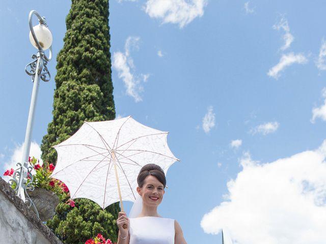 Il matrimonio di John e Ailbhe a Bellagio, Como 12