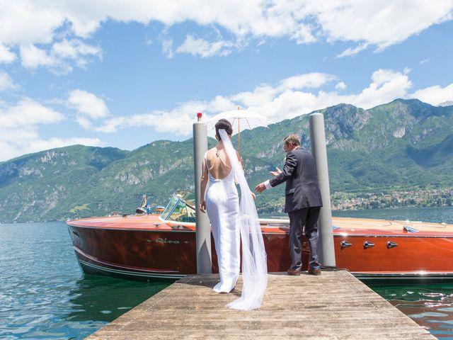 Il matrimonio di John e Ailbhe a Bellagio, Como 14
