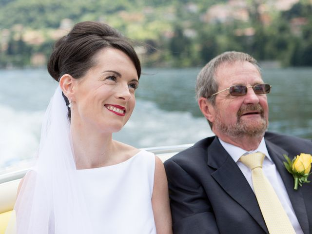 Il matrimonio di John e Ailbhe a Bellagio, Como 15