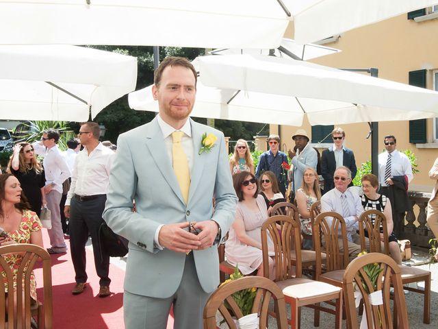 Il matrimonio di John e Ailbhe a Bellagio, Como 16