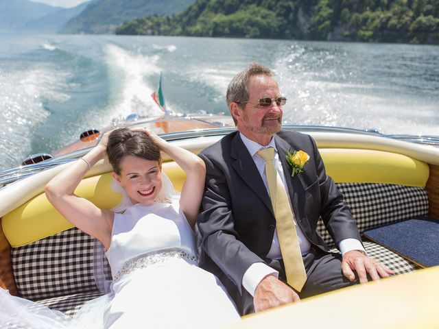 Il matrimonio di John e Ailbhe a Bellagio, Como 17