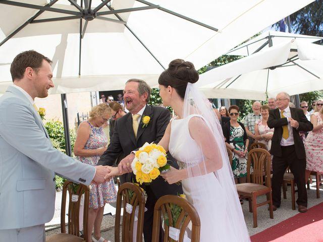 Il matrimonio di John e Ailbhe a Bellagio, Como 20