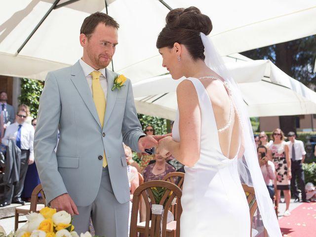 Il matrimonio di John e Ailbhe a Bellagio, Como 25