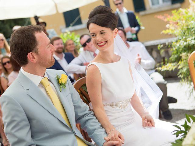 Il matrimonio di John e Ailbhe a Bellagio, Como 27