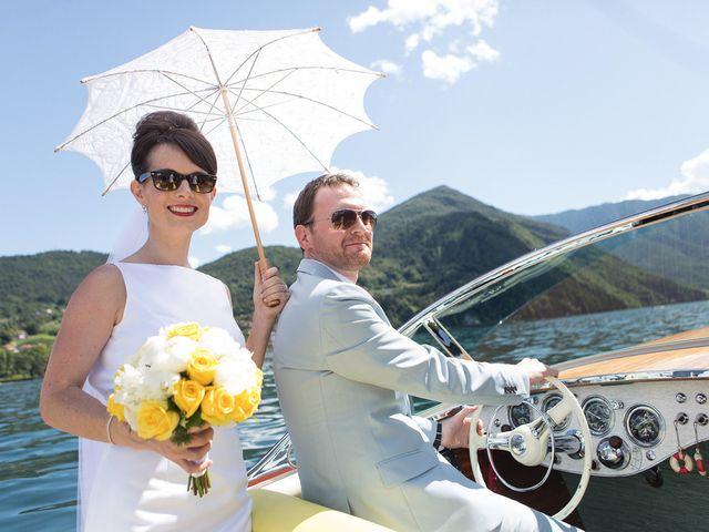 Il matrimonio di John e Ailbhe a Bellagio, Como 29
