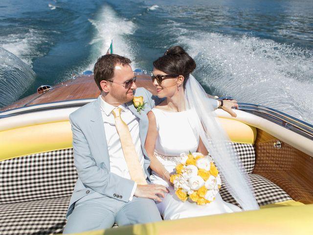 Il matrimonio di John e Ailbhe a Bellagio, Como 30