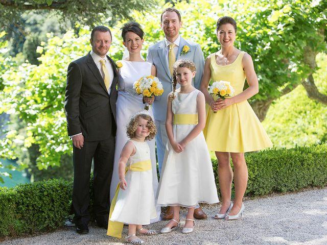 Il matrimonio di John e Ailbhe a Bellagio, Como 35