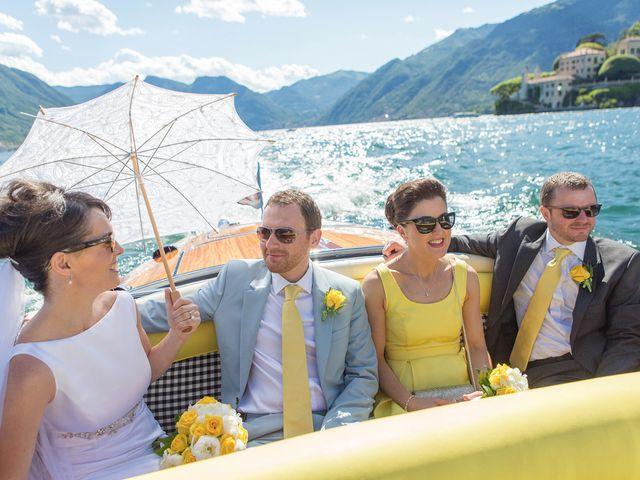 Il matrimonio di John e Ailbhe a Bellagio, Como 40