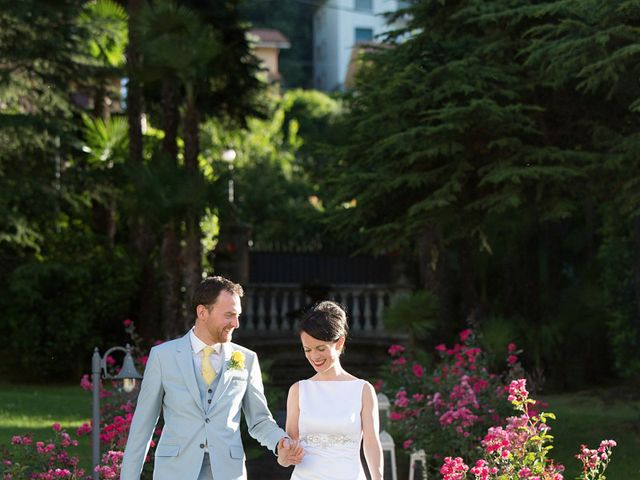 Il matrimonio di John e Ailbhe a Bellagio, Como 44