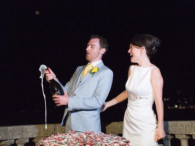 Il matrimonio di John e Ailbhe a Bellagio, Como 55