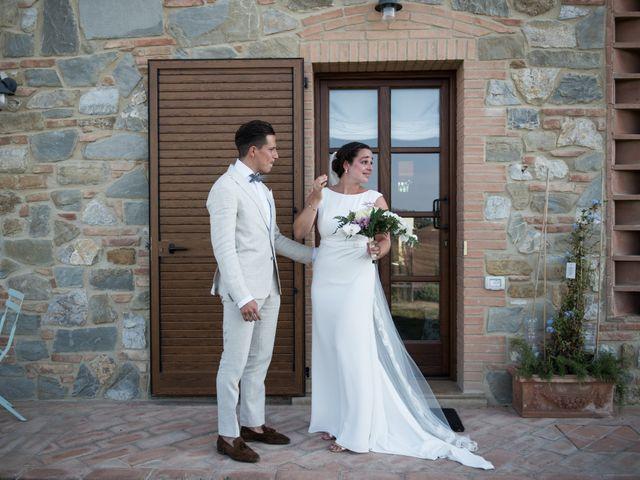 Il matrimonio di Steven e Assi a Lajatico, Pisa 3