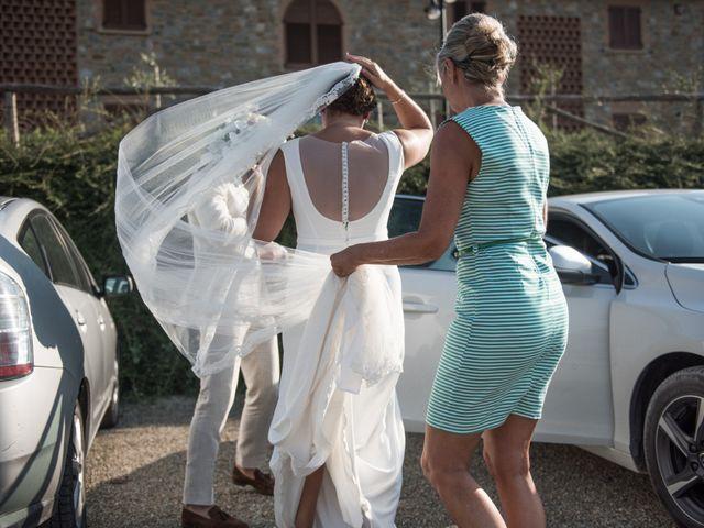 Il matrimonio di Steven e Assi a Lajatico, Pisa 4