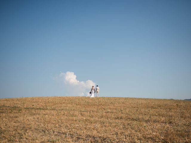 Il matrimonio di Steven e Assi a Lajatico, Pisa 8