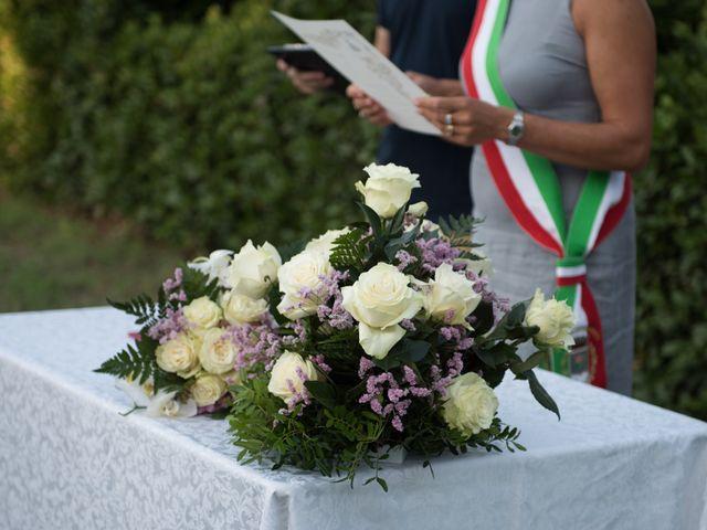 Il matrimonio di Steven e Assi a Lajatico, Pisa 16