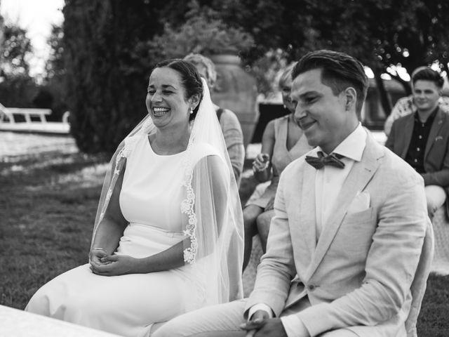 Il matrimonio di Steven e Assi a Lajatico, Pisa 19