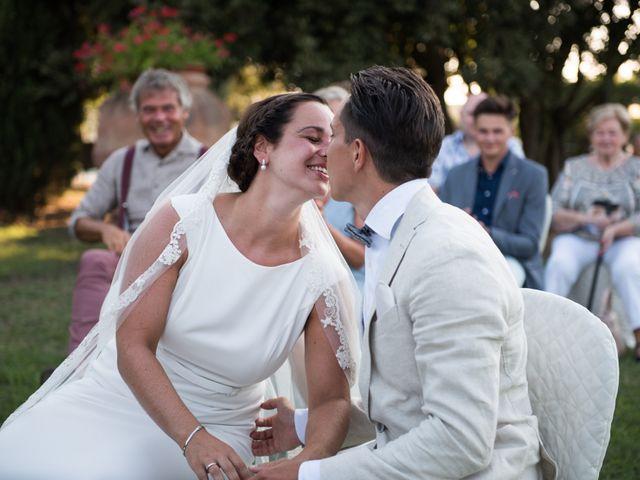 Il matrimonio di Steven e Assi a Lajatico, Pisa 21