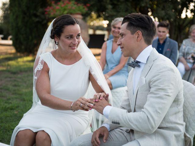 Il matrimonio di Steven e Assi a Lajatico, Pisa 23