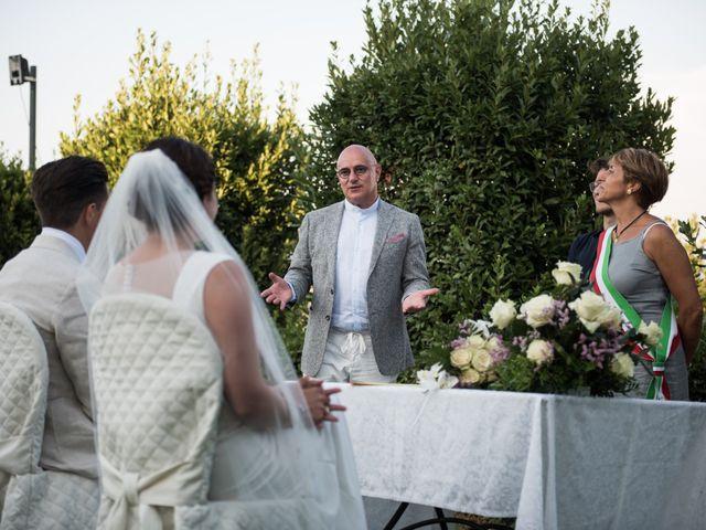 Il matrimonio di Steven e Assi a Lajatico, Pisa 26