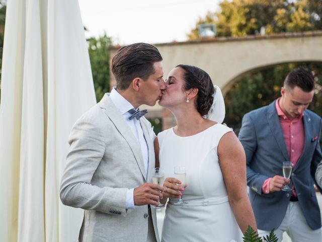 Il matrimonio di Steven e Assi a Lajatico, Pisa 27