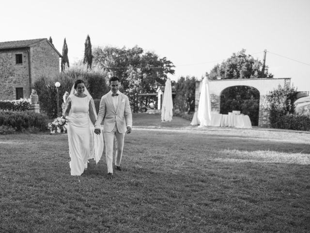 Il matrimonio di Steven e Assi a Lajatico, Pisa 33