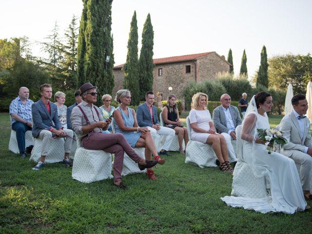 Il matrimonio di Steven e Assi a Lajatico, Pisa 34