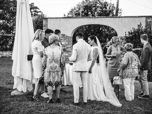 Il matrimonio di Steven e Assi a Lajatico, Pisa 37