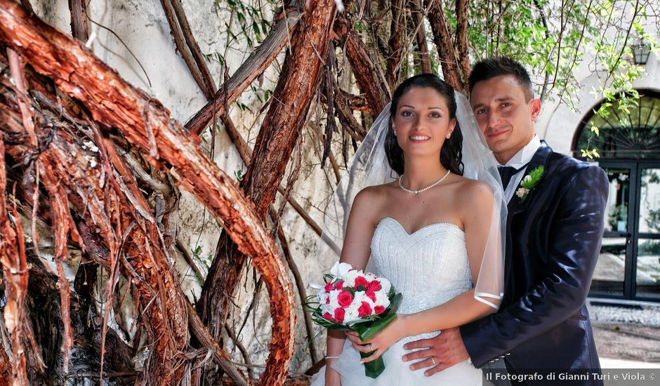 Il matrimonio di Berardo e Simona a Monterotondo, Roma