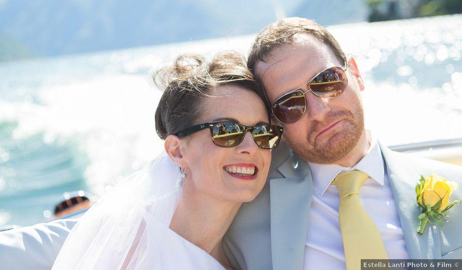 Il matrimonio di John e Ailbhe a Bellagio, Como