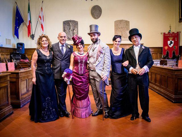Il matrimonio di Riccardo e Valentina a Arezzo, Arezzo 44