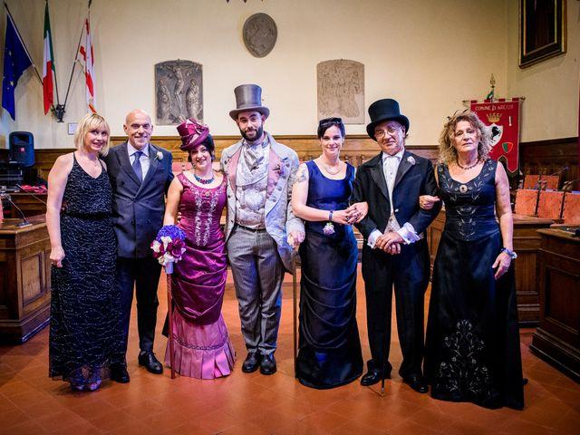 Il matrimonio di Riccardo e Valentina a Arezzo, Arezzo 45