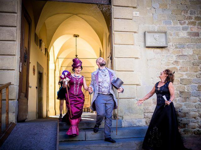 Il matrimonio di Riccardo e Valentina a Arezzo, Arezzo 48