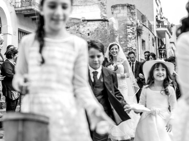 Il matrimonio di Lorenzo e Chiara a Raddusa, Catania 33