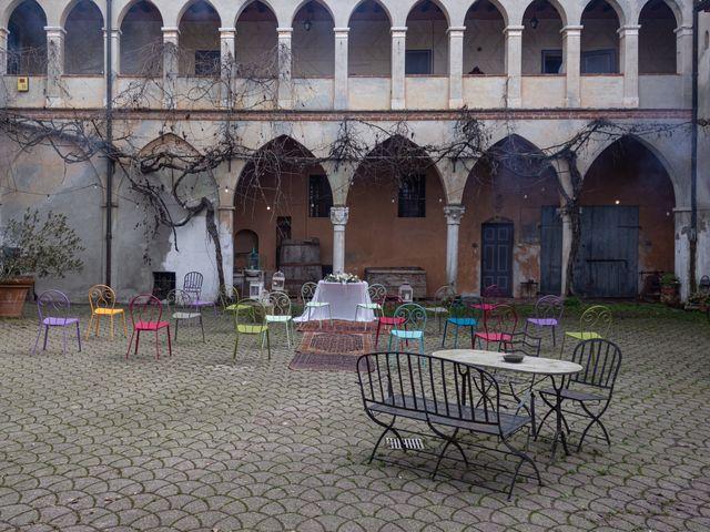 Il matrimonio di Simona e Giorgio a Pieve d'Olmi, Cremona 18