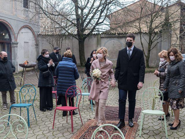 Il matrimonio di Simona e Giorgio a Pieve d'Olmi, Cremona 26